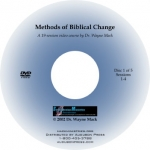 Methods of Biblical Change 5-DVD set