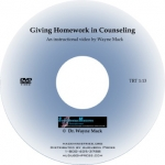 Giving Homework in Counseling (DVD)
