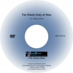 The Whole Duty of Man (DVD)